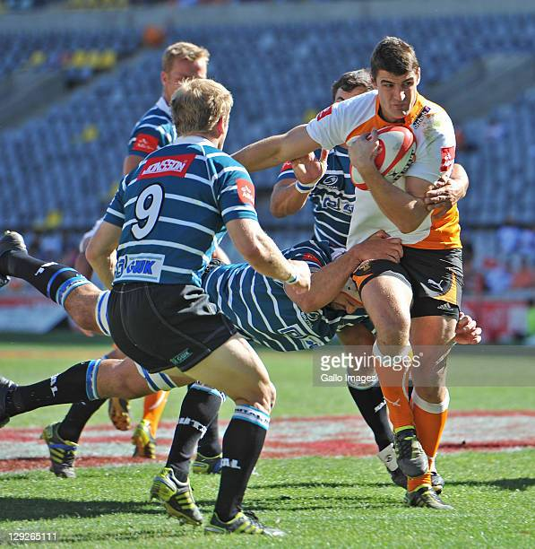 Hennie Daniller of the Toyota Free State Cheetahs during the Absa Currie Cup match between Toyota Free State Cheetahs and GWK Griquas at Free State...