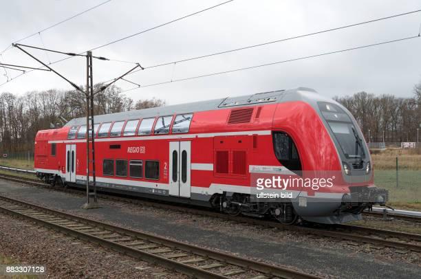 DEU 16761 Hennigsdorf Testgleis Bombardier Transportation GmbH DoppelstockTriebwagen DDB 91 80 0445 0014 DB Regio AG Region Nordost DB Regio hat vom...