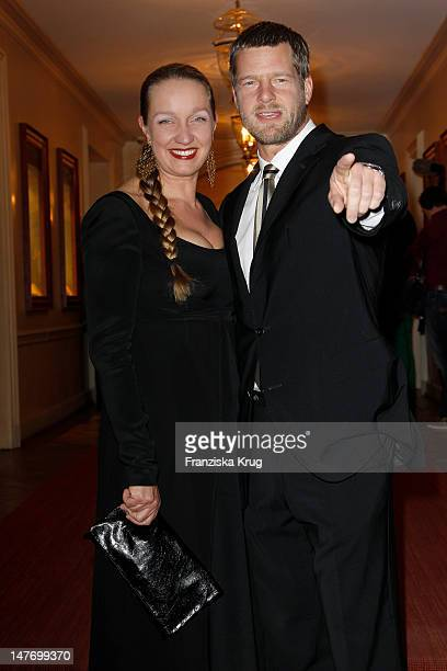 Henning Baum and his wife Corinna Baum attend the Gala Spa Award at Brenner's Park Hotel on March 17 2012 in BadenBaden Germany