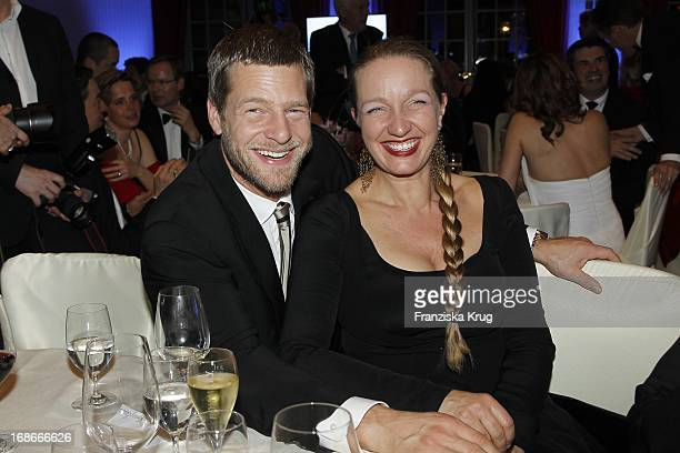 Henning Baum and wife Corinna at The Gala Spa Award at Brenners ParkHotel Spa in Baden Baden