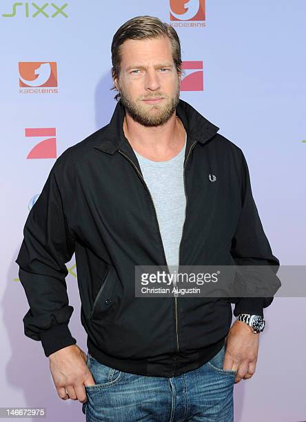 Henning Baum attends photocall of ProSiebenSat1 press conference at Hamburg Cruise Center on June 20 2012 in Hamburg Germany