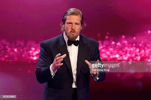 Henning Baum attends the Deutscher Fernsehpreis 2013 Show at Coloneum on October 02 2013 in Cologne Germany The show will be aired in German...