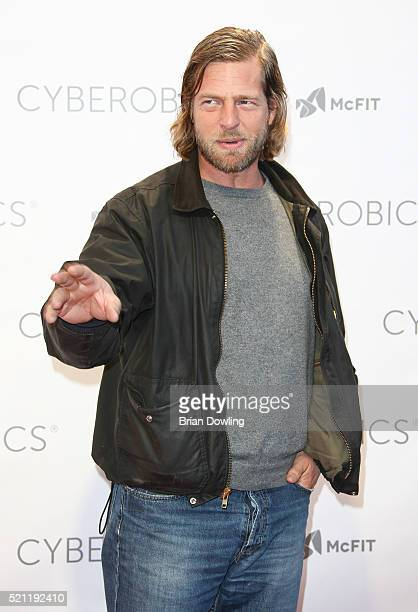 Henning Baum attends the Grand Opening of Cyberobics on April 14 2016 in Berlin Germany