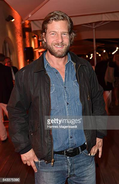 Henning Baum attends the UFA Fiction Reception during the Munich Film Festival 2016 at Cafe Reitschule on June 27 2016 in Munich Germany