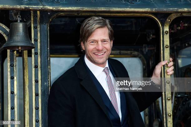 Henning Baum attends the world premiere of 'Jim Knopf und Lukas der Lokomotivfuehrer' at CineStar on March 18 2018 in Berlin Germany