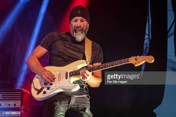 Henning Kaasin from Come Taste The Band performs on stage at The Notodden Blues Festival on August 2 2019 in Notodden Norway