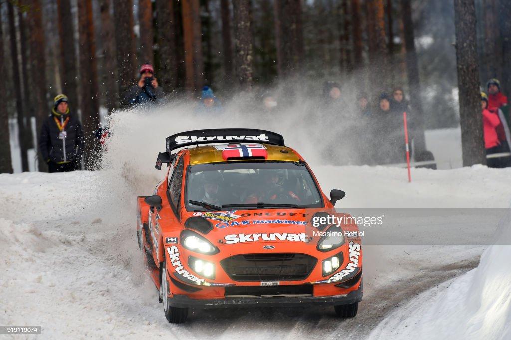 FIA World Rally Championship Sweden - Day One : News Photo