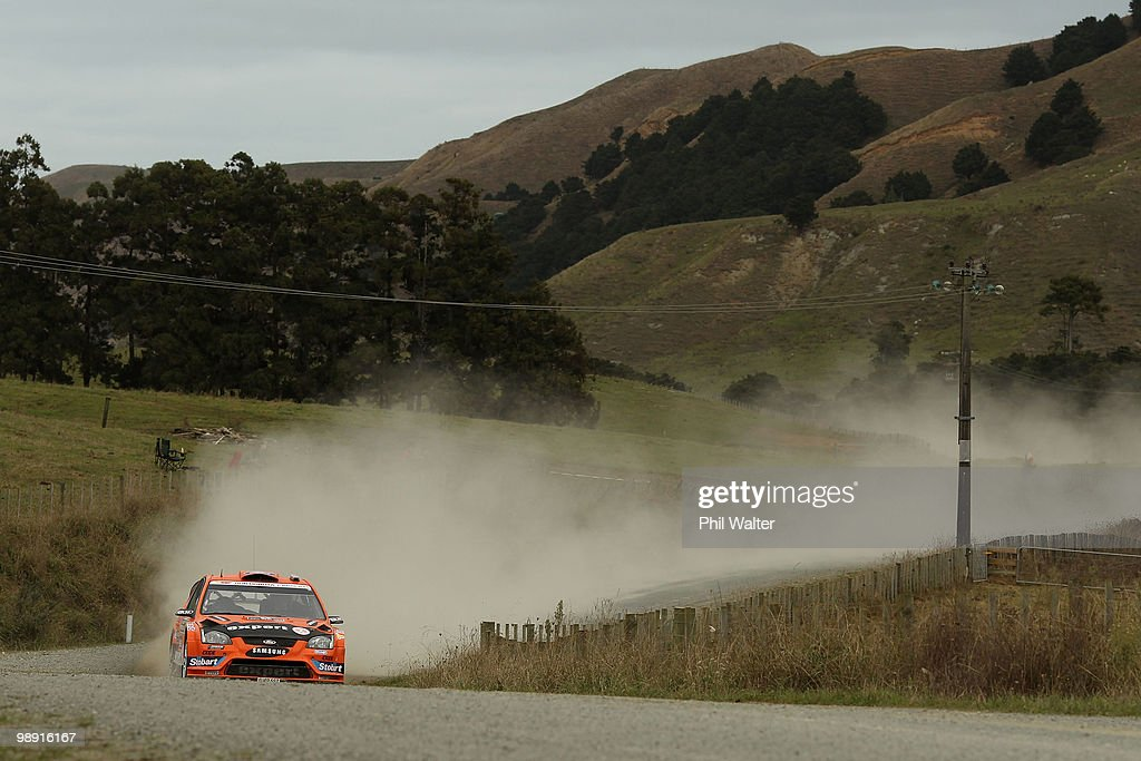 WRC Rally of New Zealand - Day Two : News Photo