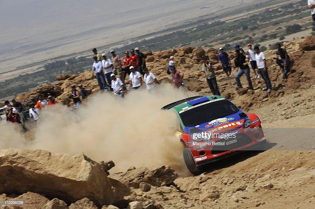 FIA World Rally Championship Jordan - Shakedown : News Photo