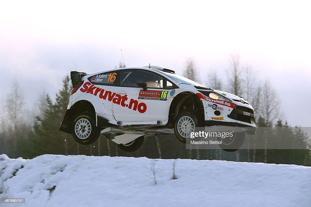 FIA World Rally Championship Sweden - Day Three : News Photo