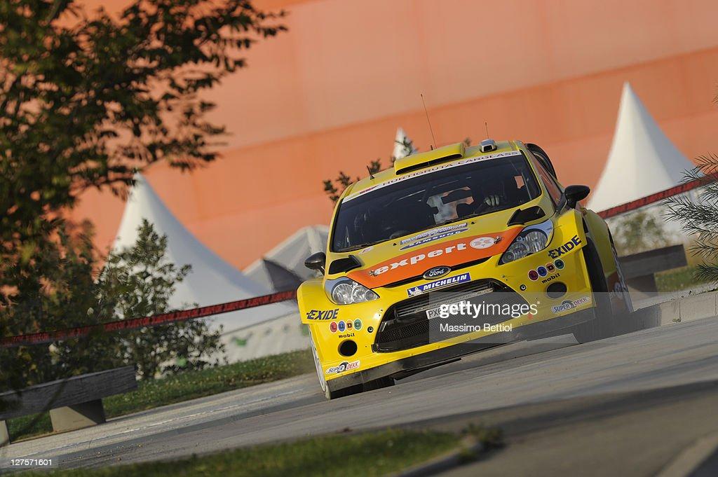 FIA World Rally Championship France - Shakedown : News Photo