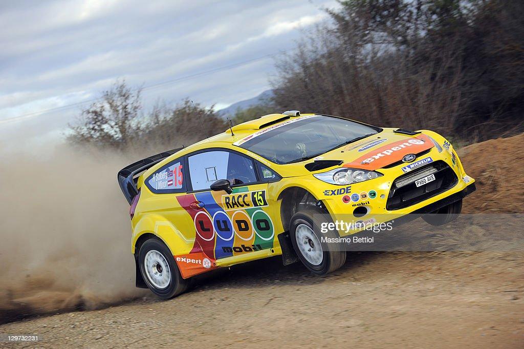 FIA World Rally Championship Spain - Shakedown : News Photo