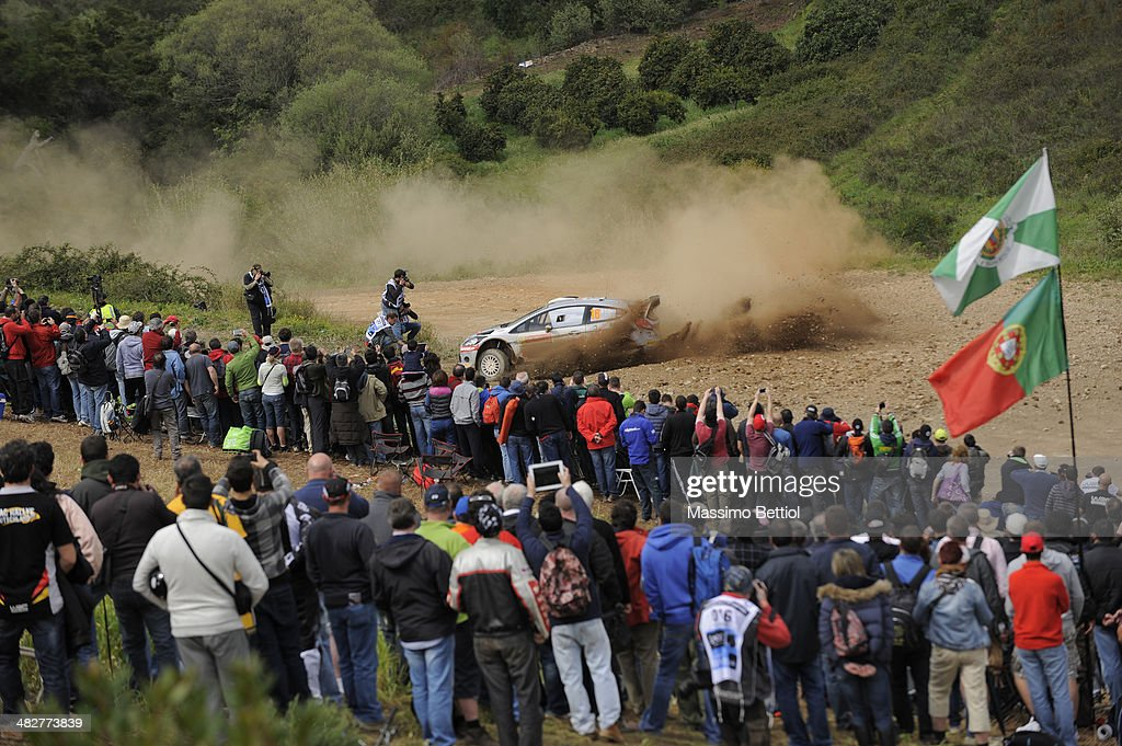 FIA World Rally Championship Portugal - Day One : News Photo