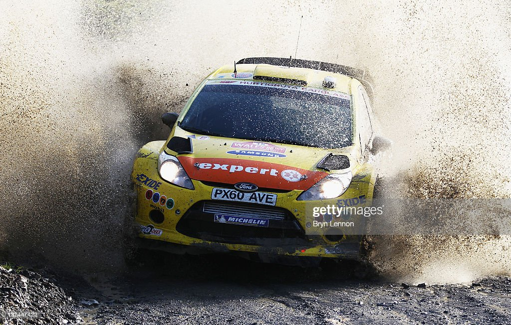 FIA World Rally Championship Great Britain - Day Three : News Photo