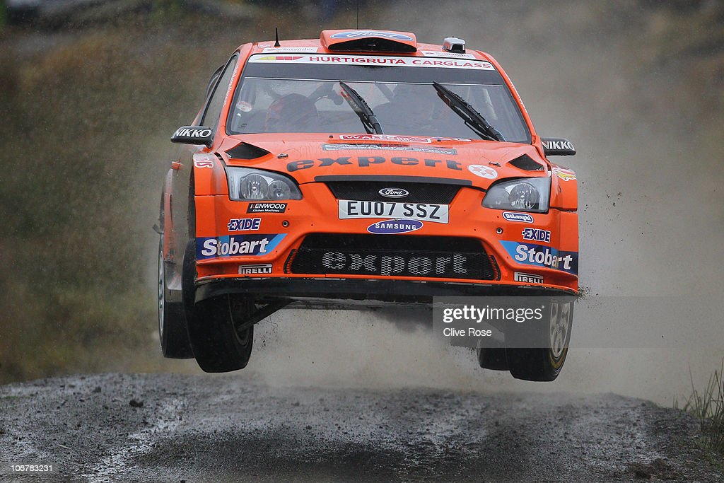 Wales Rally  GB - Day One : News Photo
