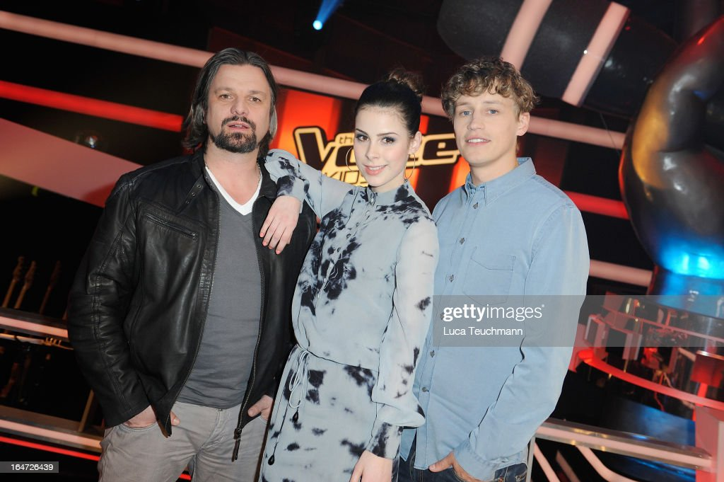 Henning Wehland Lena Meyer Landrut And Tim Bendzko Attend The Voice News Photo Getty Images
