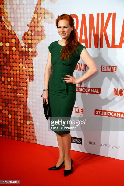 Henny Reents attends 'Banklady' Premiere at Kino International on March 17, 2014 in Berlin, Germany.