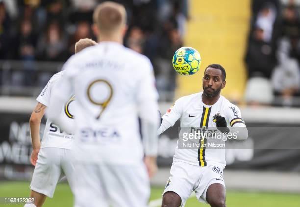 Henok Goitom of AIK during the Allsvenskan match between BK Hacken and AIK at Bravida Arena on September 15, 2019 in Gothenburg, Sweden.