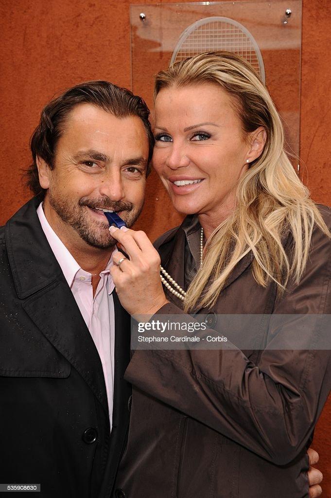 Henri and Florentine Leconte at Roland Garros Village.