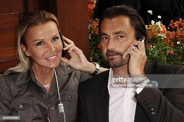 Henri and Florentine Leconte at Roland Garros Village