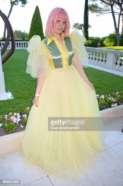 DJ Henri arrives at the amfAR Gala Cannes 2018 at Hotel du CapEdenRoc on May 17 2018 in Cap d'Antibes France