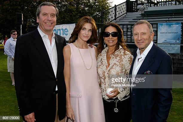 Henri Barguirdjian Stephanie Seymour Brant Anne Marie Graff and Laurence Graff attend The GRAFF DIAMOND CUP Plays Host to the NYU Medical Center's...