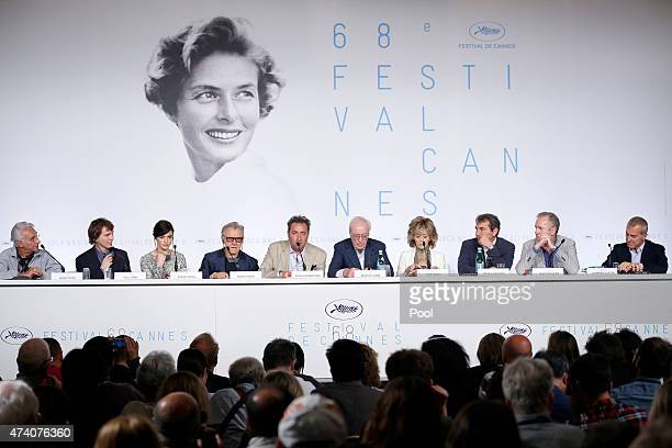 Henri Behar, actors Paul Dano, Rachel Weisz, Harvey Keitel, director Paolo Sorrentino, actors Michael Caine and Jane Fonda, Nicola Guilano, Fabio...