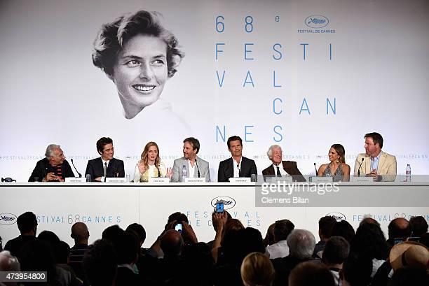 Henri Behar Benicio Del Toro actress Emily Blunt director Denis Villeneuve Josh Brolin Director of Photography Roger Deakins producer Molly Smith and...