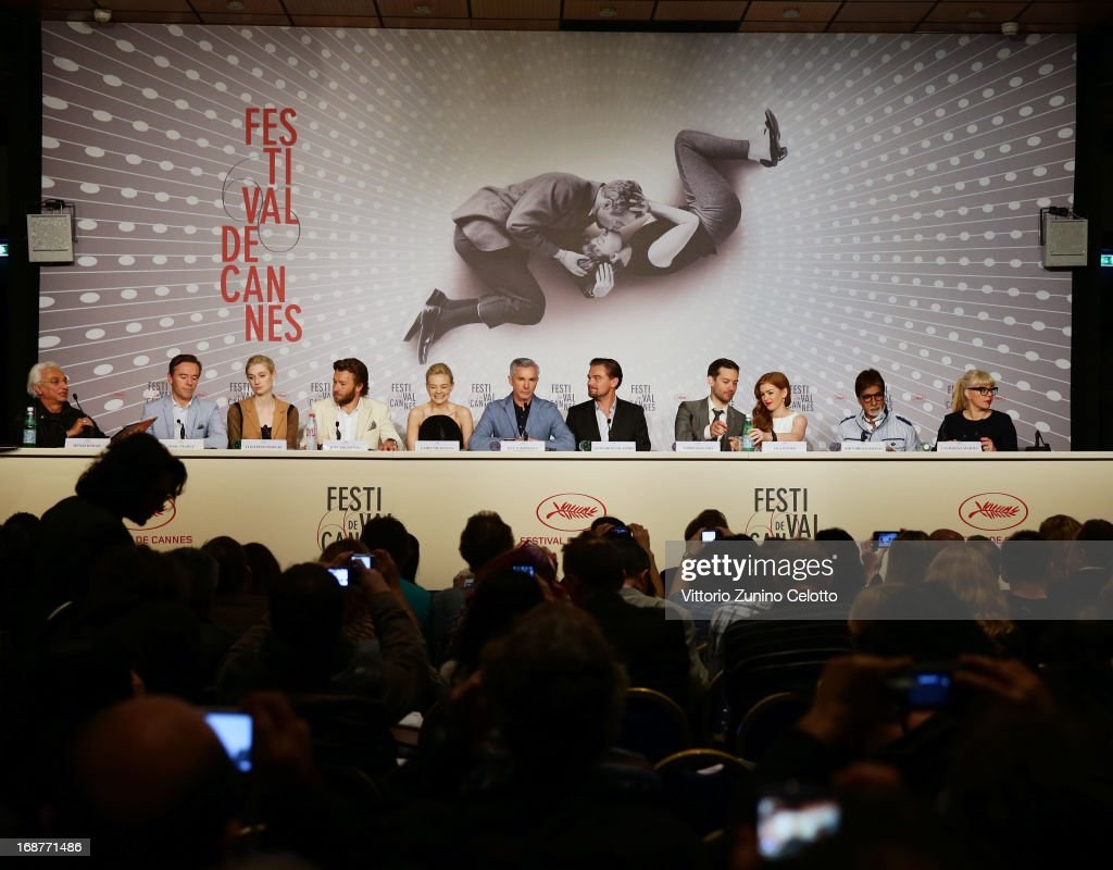 'The Great Gatsby' Press Conference - The 66th Annual Cannes Film Festival