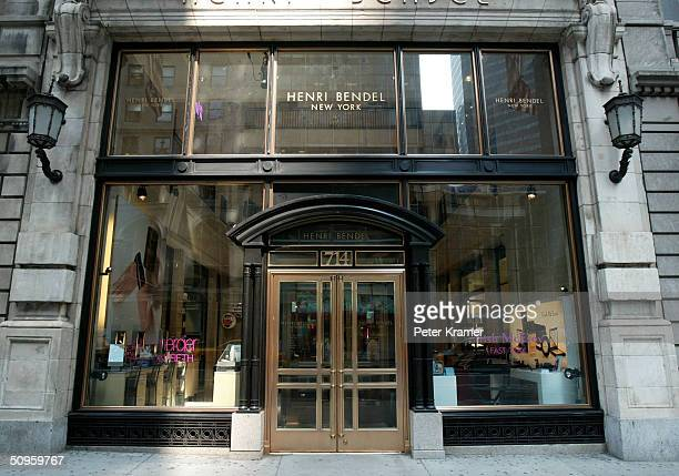 Henri Bendel Store on Fifth Ave June 14 2004 in New York City