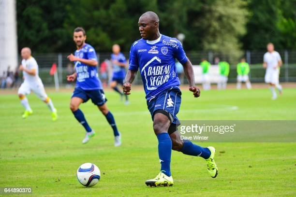 Henri BIENVENU NTSAMA Troyes / Lille Match amical Cambrai Photo Dave Winter / Icon Sport
