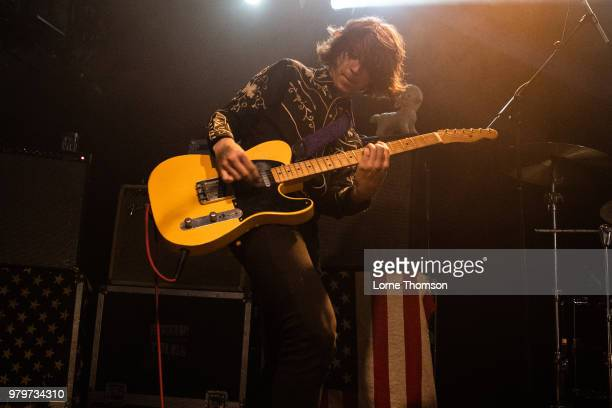 Henri Cash of Starcrawler performs at The Garage on June 20 2018 in London England