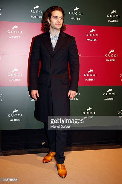Henri Cavill attends the International Gucci Masters Competition - Day 4 at Paris Nord Villepinte on December 13, 2009 in Paris, France.