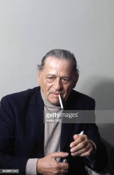 Henri Charrière dit 'Papillon' ancien bagnard rendu célèbre par son ouvrage écrit en 1969 et dont est tiré le film 'Papillon' Circa 1960