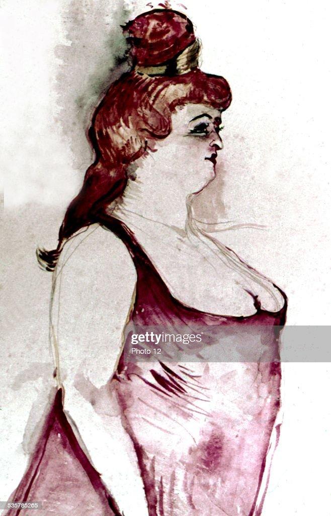 Henri de Toulouse Lautrec (1864-1901), Cocyte, in the musical 'La belle Hélène', Musée d'Albi, .