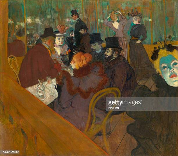 Henri de ToulouseLautrec At the Moulin Rouge 189295 oil on canvas 48 7/16 x 55 1/2 in Art Institute of Chicago