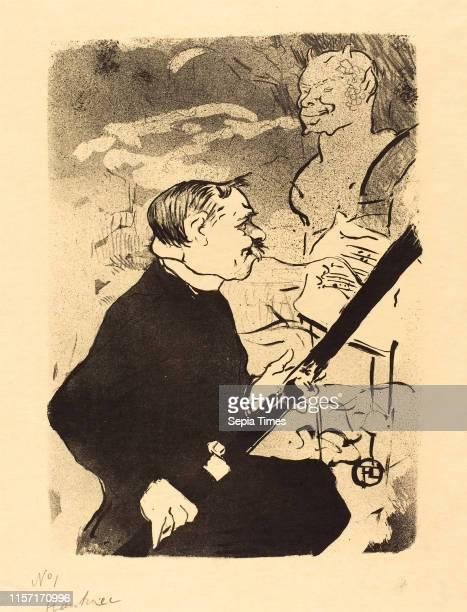 Henri de ToulouseLautrec For You lithograph in black