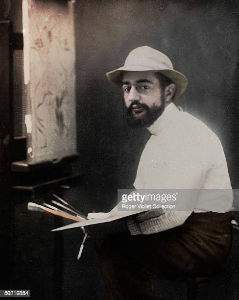 Henri de ToulouseLautrec French painter 1894 Colourized photo