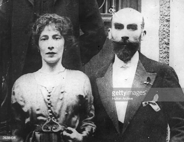 Henri Desire Landru a French mass murderer who was later tried and executed with Mlle Segrat at a wedding