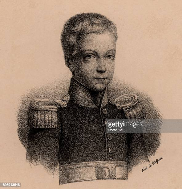 Henri Duc de Bordeaux Posthumous son of Charles Ferdinand Duc de Berry grandson of Charles X of France Bourbon heir to throne of France and styled...