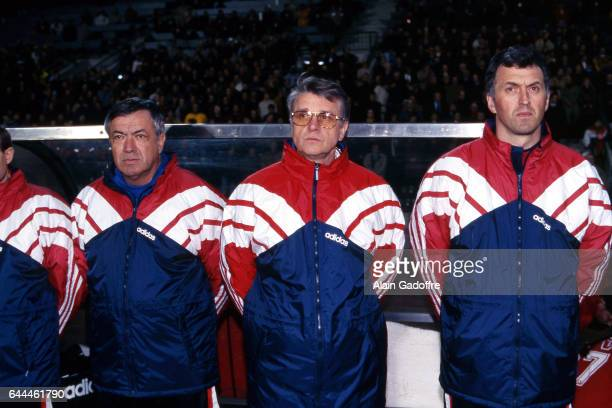Henri Emile / Aime JACQUET / Philippe Bergeroo Belgique / France Match amical Photo Alain Gadoffre / Icon Sport