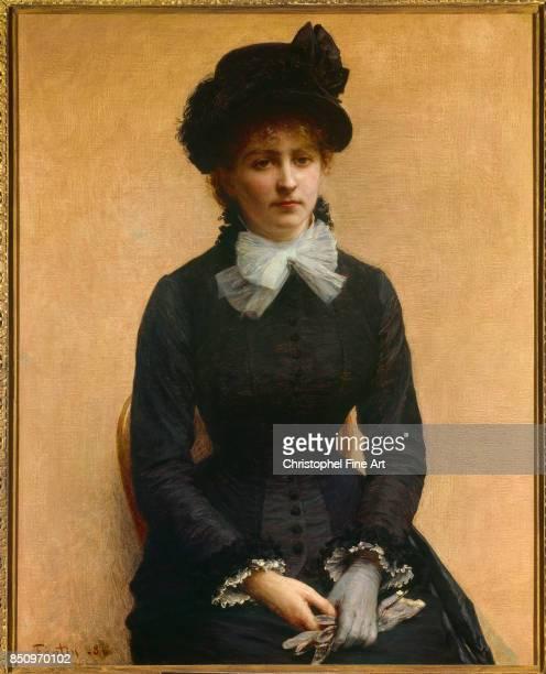 Henri Fantin Latour Portrait of Louise Riesener 1880 Oil on canvas 100 x 080 m Grenoble Fine Art Museum