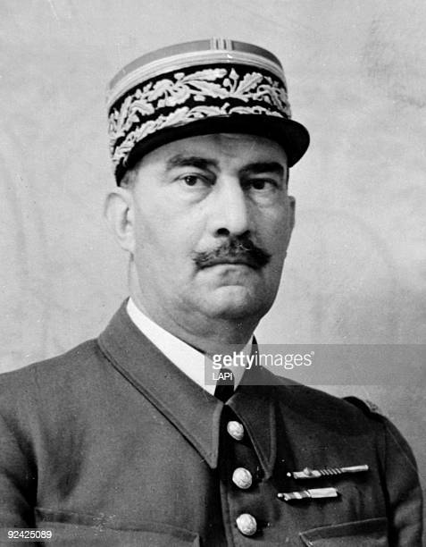 Henri Fernand Dentz French General and military governor of Paris 1940