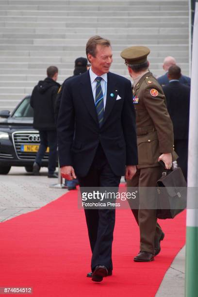 Henri Grand Duke of Luxembourg arriving to the United Nations Framework Convention on Climate Change UNFCCC COP23