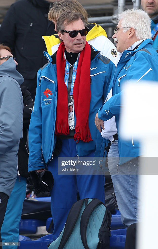 Royals at the Olympics - 2014 Winter Olympic Games : Nachrichtenfoto