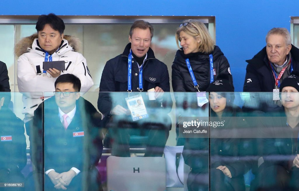 Winter Olympics - Celebrity Appearances : News Photo
