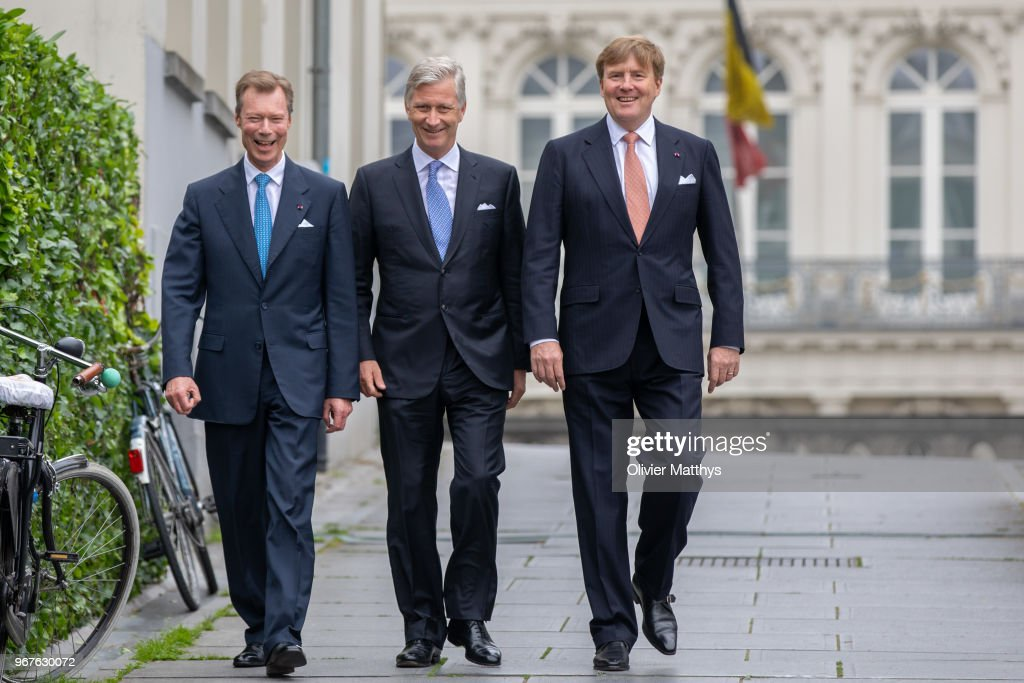 King Philip Of Belgium Attends 60 Years Benelux Council
