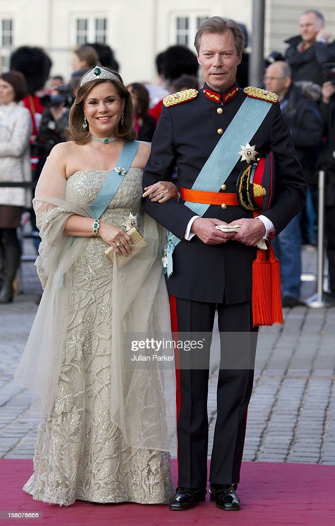 Royals Attend Gala Performance In Copenhagen : News Photo