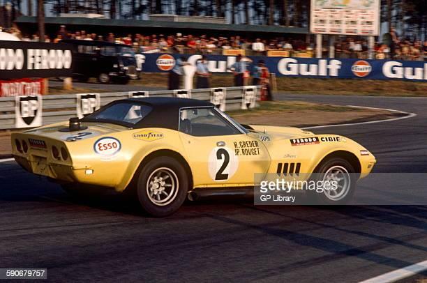 2 Henri Greder Jean Pierre Rouget Chevrolet Corvette Le Mans 14 June 1970