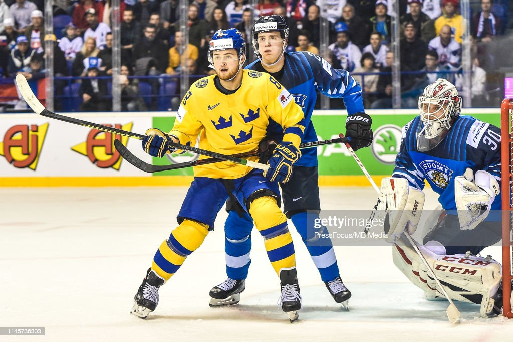 Finland v Sweden: Quarter Final - 2019 IIHF Ice Hockey World Championship Slovakia : News Photo